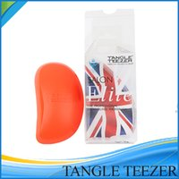 Escova de cabelo Elite emaranhado Teezer várias cores cuidado do cabelo para cabelo Ferramentas emaranhado Teezer Detangling HAIRBRUSH Comb Salon Styling Tamer