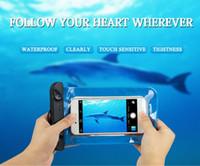 оптовых doogee phone-Водонепроницаемый мобильный телефон чехол для Xiaomi Mi Mi5 5 редми 3 Примечание 3 / Lg G5 / Samsung S7 / Lenovo / Doogee, Универсальные вализ Обложка