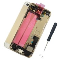 battery assemblies - for iPhone S battery Back Cover Full Housing Assembly with Cables and Small Parts with IMEI