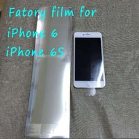 Wholesale For iPhone s iphone Factory film new phone film Screen tape front and back protector sticker strip membrane