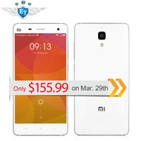Wholesale Original quot Xiaomi Mi4 Mi M4 G LTE Cell Phone Snapdragon Quad Core GB RAM GB ROM x1080 MP Camera GPS