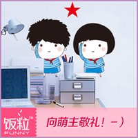 bedroom wardrobes designs - creative piece wall paper home decoration wardrobe furniture wall stickers Switch stick cartoon baby kids bedroom
