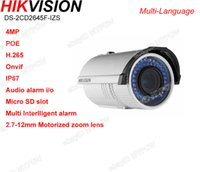 zoom ip camera - Hikvision DS CD2645F IZS H MP mm Motorized zoom bullet IP camera POE