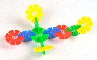 Wholesale 120 Snow Snowflake Building Blocks Juguetes Bricks DIY Assembling Classic Toys Kids Early Educational Learning Brinquedos