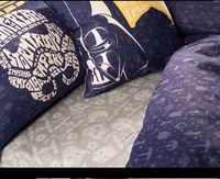 Cheap 100 Cotton Star Wars Skull Bedding Set new 4 3pcs Boys queen King Size Kids Oil Print Bed linen Gray Animal Duvet Cover Sets