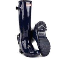 Wholesale NEW Womens Navy GLOSS HUNTER Tall Original RAIN Waterproof BOOTS Size