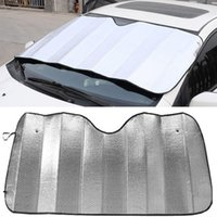 Wholesale Applied Foldable bubbles Auto Car Windshield Visor Cover Block Front Rear Window Sun Shade Reflective Covers