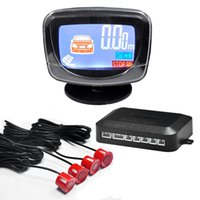 Wholesale Car LCD Display Parking Sensor LCD Reverse Parking Sensors Backup Radar Car Detector Monitor System For All The Car set