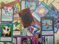 Wholesale 108 Yu gi oh DIY print Card group MTG White core English card YuGiOh Card Deck booster pack cartons ruling Light