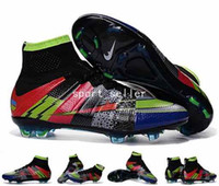 Wholesale 2016 Mercurial Superfly What the Mercurial Soccer Shoes Football Shoes Mens Soccer Cleats Boots Cheap Original Quality Football Shoe