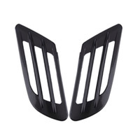 Wholesale 2pcs Universal Auto Car Air Intake Flow Hood Vent Fender Decoration Stickers Bonnet Cover Car Decal hot selling