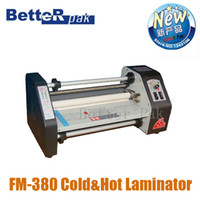 Wholesale FM paper laminating machine students card worker card office file laminator Guranteed photo laminator