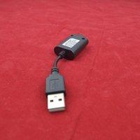 Precios al por mayor para las baterías del ego Baratos-Cable del cortocircuito del cargador del USB de la alta calidad EGO con el CE RoHS FCC para la batería del cigarrillo del cig del e 650 900 1100 1300 mAh Precio al por mayor