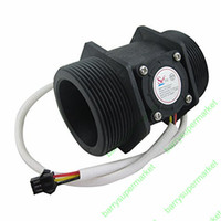 Wholesale G2 quot inch Water Flow Hall Sensor Switch Meter Flowmeter Control L min DN50