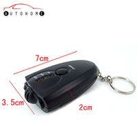 Wholesale display retail Portable Alcohol Breath Tester for Safe Driving LED Light Display Mini Portable Breathalyzer for