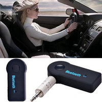 Wholesale Bluetooth Car Kit Handsfree MP3 Player FM Transmitter Dual USB Charger Support SD Card Line in AUX