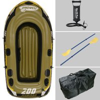 Wholesale 2 Person fishing boat cm inflatable boat fishing boat kayak repair patch include paddle pump carry bag optional