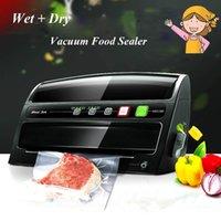 Wholesale Automatic Dry Wet Vacuum Food Sealer Household Food Preservation Multi function Vacuum Film Sealing Machine MS1160
