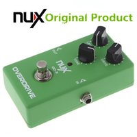 Wholesale Original Product NUX OD Overdrive Electric Guitar Effect Pedal Ture Bypass Green High Quality Guitar Effect Pedal guitar parts accessories