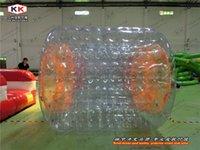 amusement water park - Large Size Inflatable Water Walking Roller For Glasssland roller tube for amusement park