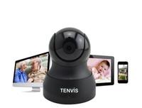 baby tech - 2016 Tenvis IP Camera Baby Monitor P Wireless WIFI Pan Tilt Onvif PTZ Camera P2P Tech for Smartphone CCTV Security