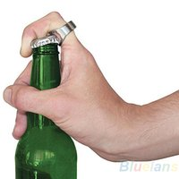 beer bottle brush - NEWBar Party Beer Bottle Opener Ring Cool looking Brushed Stainless Steel Handy Father s Day