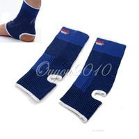 arthritis knee wrap - Ankle Knee Support Brace Guard Leg Arthritis Injury Outdoor Sports Gym Sleeve Elastic Bandage Pad Protecting Wrap Suitable