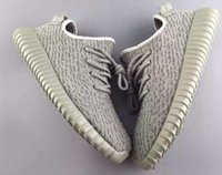 best driving shoe - Best Selling KANYE WEST Yeezys BOOST MEN RUNNING SHOES sneakers breathable shoes Y Sports Net drive shoes
