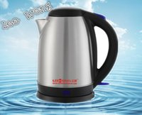 Wholesale 1 L V W stainless steel electric kettle quick heating kettle tea pot safety and convenient