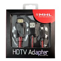 apple tv hot - Hot DHL Free Ship MHL Micro USB to HDMI TV AV Cable Adapter HDTV for Samsung Galaxy S3 S4 Note2 II Note III Retail Pack