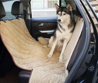 Wholesale New waterproof quilted pet car seat covers