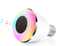 ac bass - BL08A Bluetooth Speaker Ball Bubble Lamp intelligent wireless Bluetooth bulb LED music bass gun color COOL Gift LED light