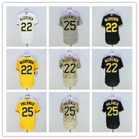 Wholesale Hot Sale Andrew McCutchen Jersey Polanco Jersey New Arrivals Pittsburgh Embroidery Logo Stitched Jersey Size M XXXL