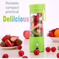 Wholesale Plug in Electric Juice Cup Juice Glass Cup Home Portable Lemon Cup Travel Juicers Kitchen Appliances Fruit tools