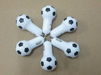 au football - High Quality V A World Cup Soccer Football Car Charger Adapter for iPhone s S Samsung Galaxy S4 S5 Note etc