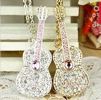 Wholesale U disk G disk genuine special offer crystal violin guitar U disk G disk gift