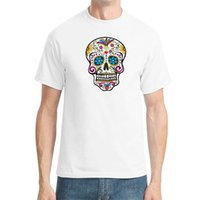 artistic t shirts - Skull Artistic Creativity Personality Tide Men s Cotton T shirt