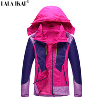 Wholesale Women Jacket Outdoor Sport Windproof Camping Spring Trekking Jacket Hiking Climbing Waterproof Fishing Jacket Women HWA0209