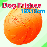 Wholesale Top Quality Eco friendly Pet Product Natural Rubber Material Pet Dog Toy Frisbee Dog Training
