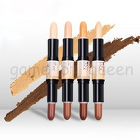 Wholesale 2016 New N YX Wonder stick highlights and contours shade stick Light Medium Deep Universal concealer