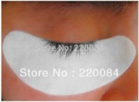 Wholesale 50PCS Crescent Curve LintFree Gel EyePad Eyelash Extension white NEW Eyelid Tools Cheap Eyelid Tools