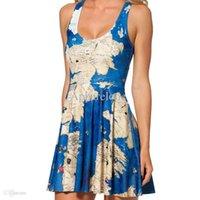 australian games - summer dress Australian design BLACK MILK skater dress Game of Thrones Westeros print dress for women