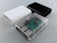Wholesale raspberry pi and Raspberry Pi Black Case Cover Shell Enclosure Box ABS box