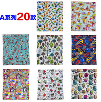 Wholesale NEW style baby printed Wet Dry zipper diaper bag Infant knitted fabric Pockets Diapers Nappy Bags Reusable Cloth Diaper Wet Bag