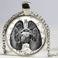 american medicine - Brave Heart Necklace Physical Department of internal medicine pendant Necklace jewelry