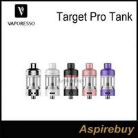 Cheap Vaporesso Target Pro Tank 2.5ml Atomizer with CCELL Ceramic Coil Inside Top Fill Leak Resistant Sleek Design for Target Pro Mod100% Original
