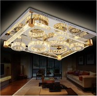 amber air - Modern rectangle Air bubble LED K9 crystal Acrylic Ceiling lamp pendant Luxurious Ceiling Lights charming amber Lighting effect