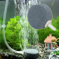 air stones for ponds - Hot Sale mm Mineral Stone Plastic Hydroponics Air Stone Bubble Disk Aerator For Aquarium Fish Tank Pond Pump Approx x15mm