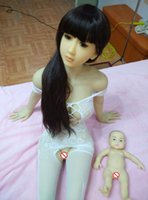 Cheap New 3D Sex doll for men with head oral vagina anal breast life size semi-solid sexdolls adult toys
