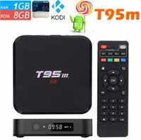 add display - Android TV BOX T95m Amlogic S905 Android5 G G EMMC K Kodi Loaded add ons LED display Set top Smart TV